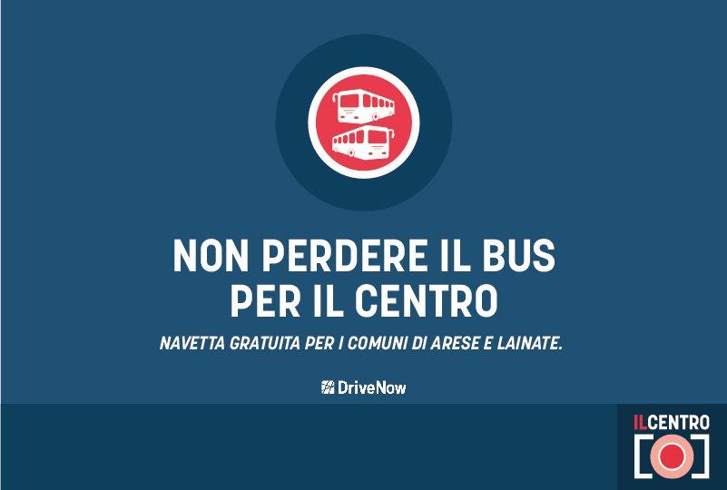Locandina Bus Navetta Il Centro
