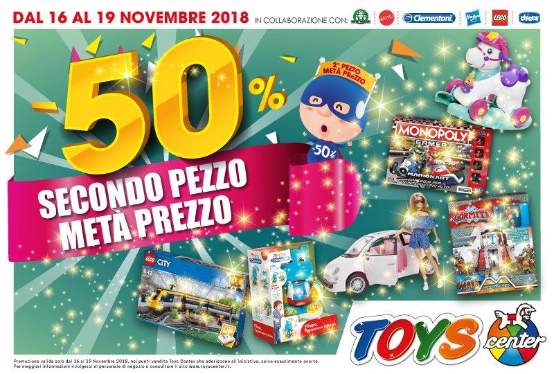 Toys Center, fai il pieno di giocattoli!