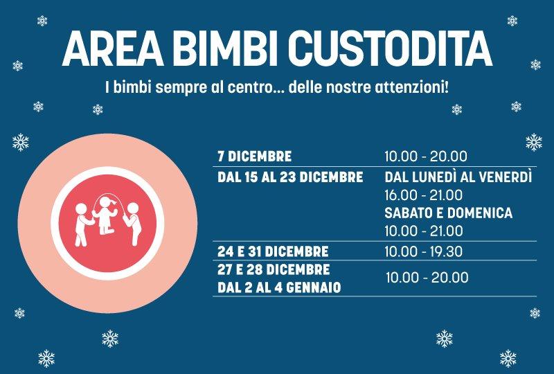 6b80e9037d Area Bimbi: a Natale più tempo per il divertimento!