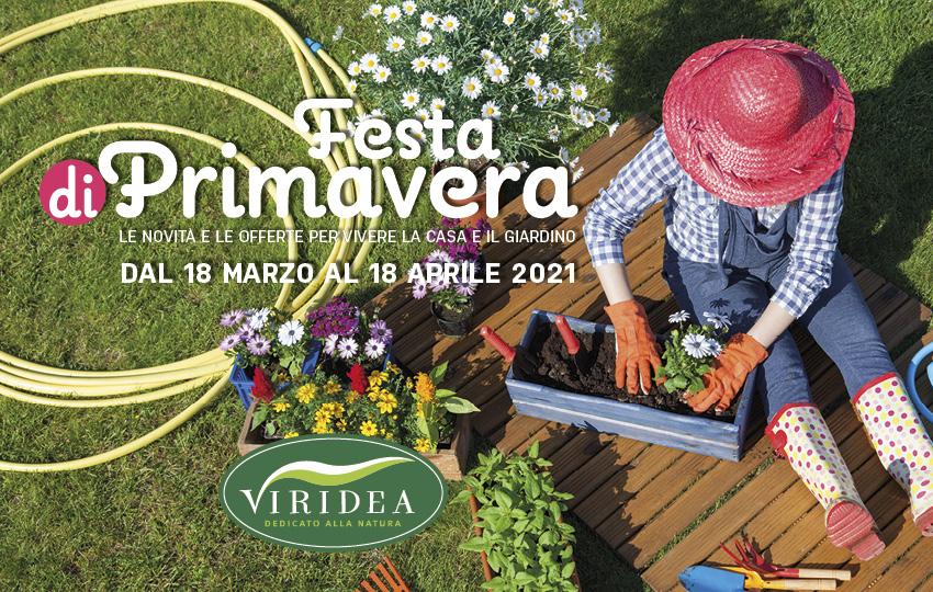 Locandina Festa di primavera | Viridea
